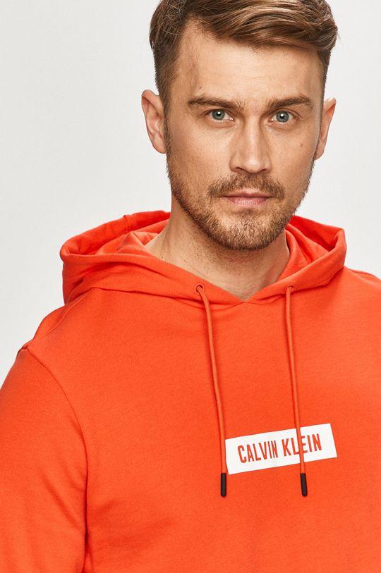 pomarańczowy Calvin Klein Performance - Bluza