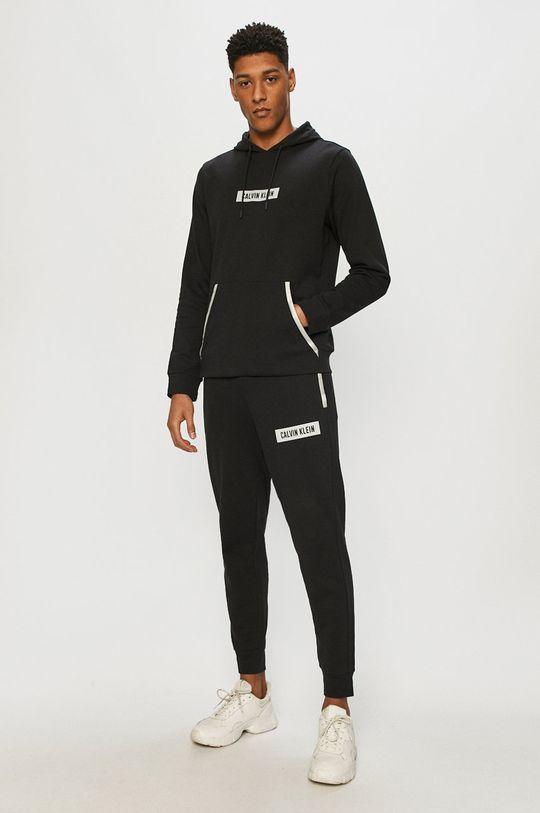 Calvin Klein Performance - Mikina černá