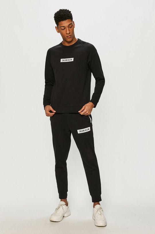 Calvin Klein Performance - Bluza bawełniana czarny