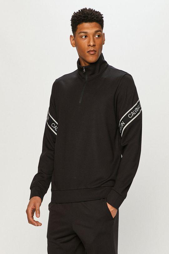 czarny Calvin Klein Performance - Bluza Męski