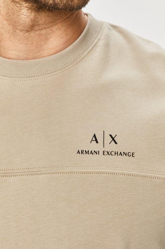 Armani Exchange - Bavlněná mikina Pánský