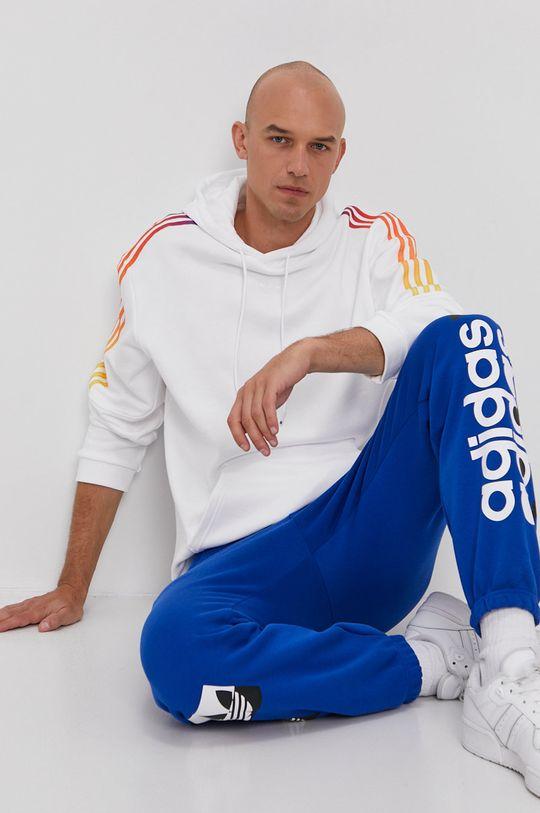 bílá adidas Originals - Bavlněná mikina