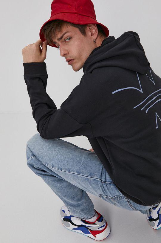 czarny adidas Originals - Bluza bawełniana Męski