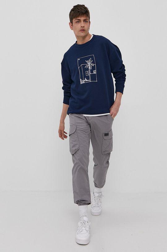 adidas Originals - Bluza bawełniana granatowy