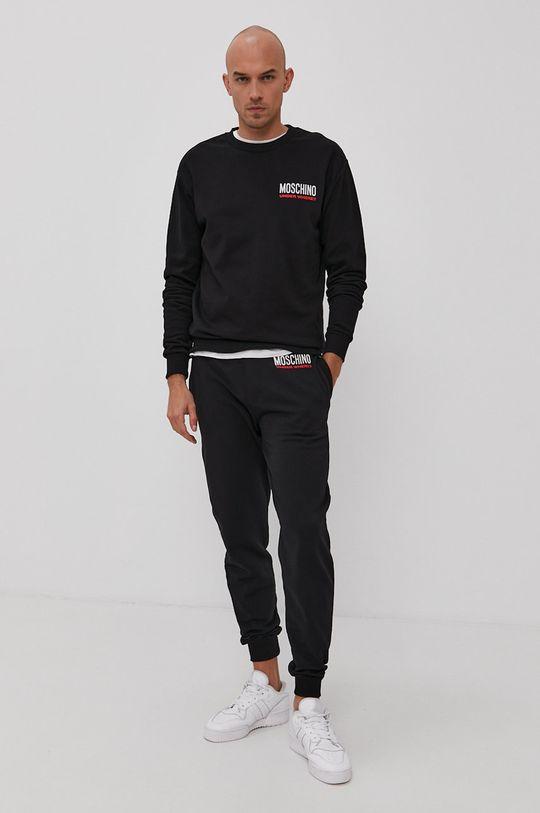 Moschino Underwear - Mikina čierna