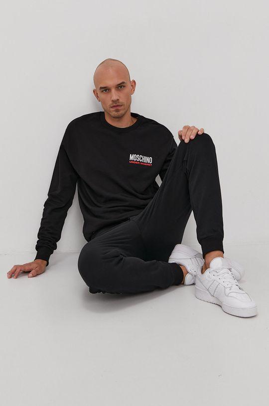 čierna Moschino Underwear - Mikina