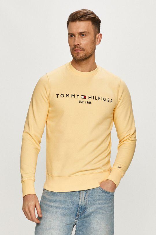 žlutá Tommy Hilfiger - Mikina Pánský