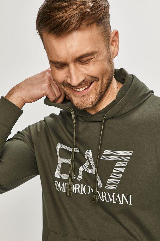 okrová EA7 Emporio Armani - Mikina