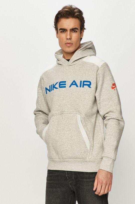 jasny szary Nike Sportswear - Bluza Męski