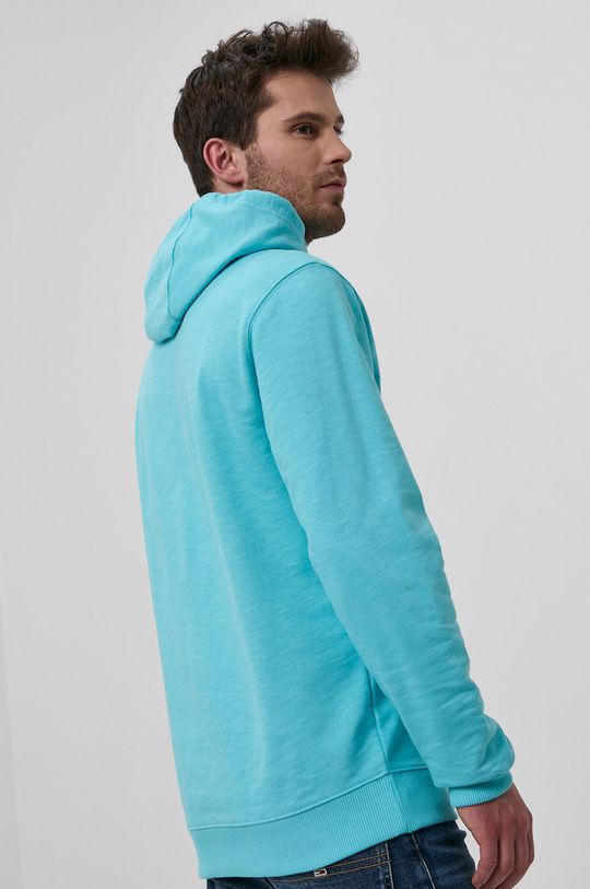 Tommy Jeans - Hanorac de bumbac  Materialul de baza: 100% Bumbac organic Banda elastica: 97% Bumbac, 3% Elastan