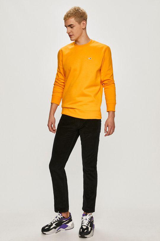 Tommy Jeans - Bluza portocaliu