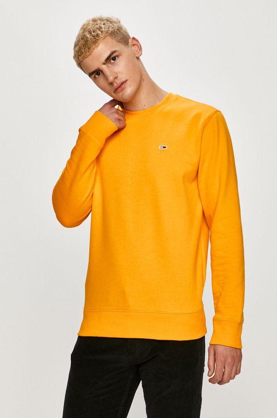 portocaliu Tommy Jeans - Bluza