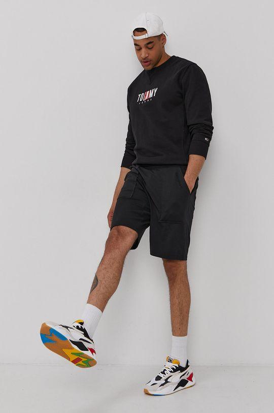 czarny Tommy Jeans - Bluza Męski