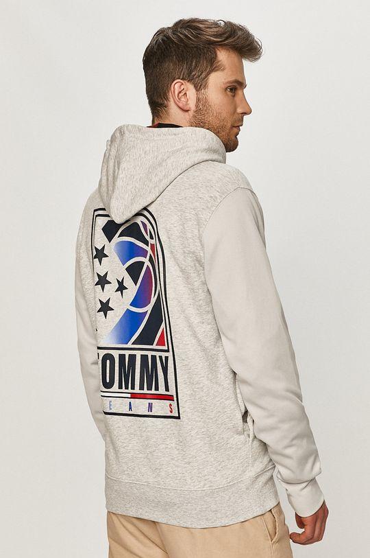jasny szary Tommy Jeans - Bluza Męski