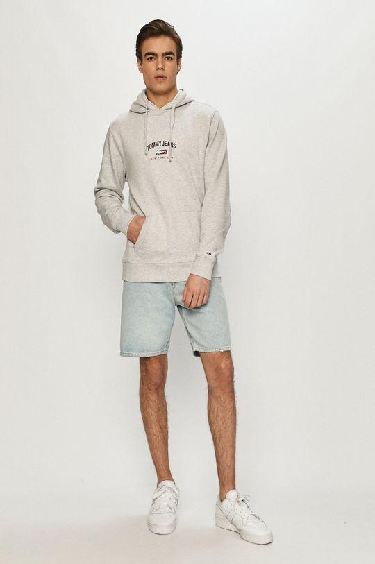 Tommy Jeans - Bluza jasny szary