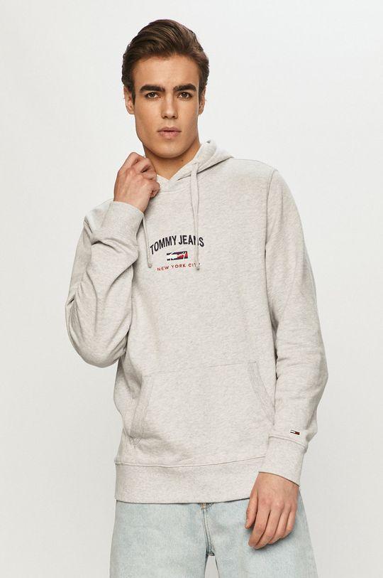 jasny szary Tommy Jeans - Bluza