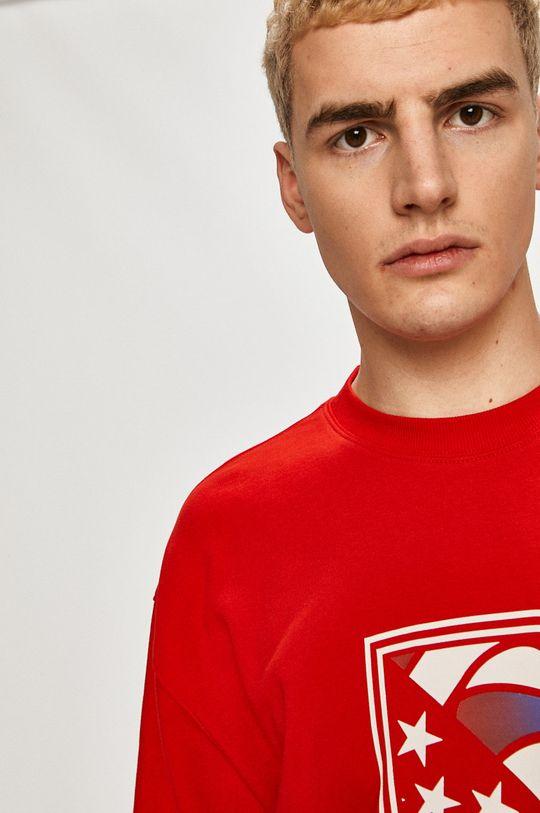 czerwony Tommy Jeans - Bluza