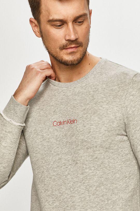 jasny szary Calvin Klein Underwear - Bluza Ck One Męski