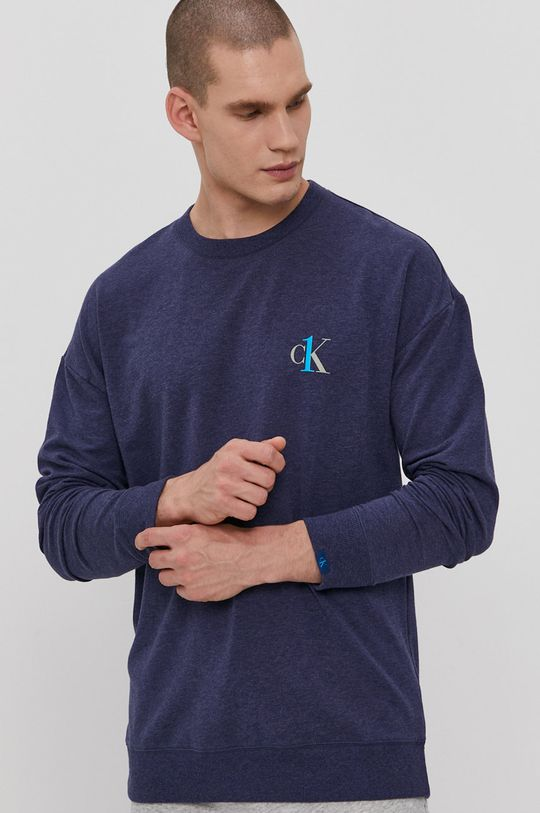 granatowy Calvin Klein Underwear - Bluza piżamowa CK One Męski