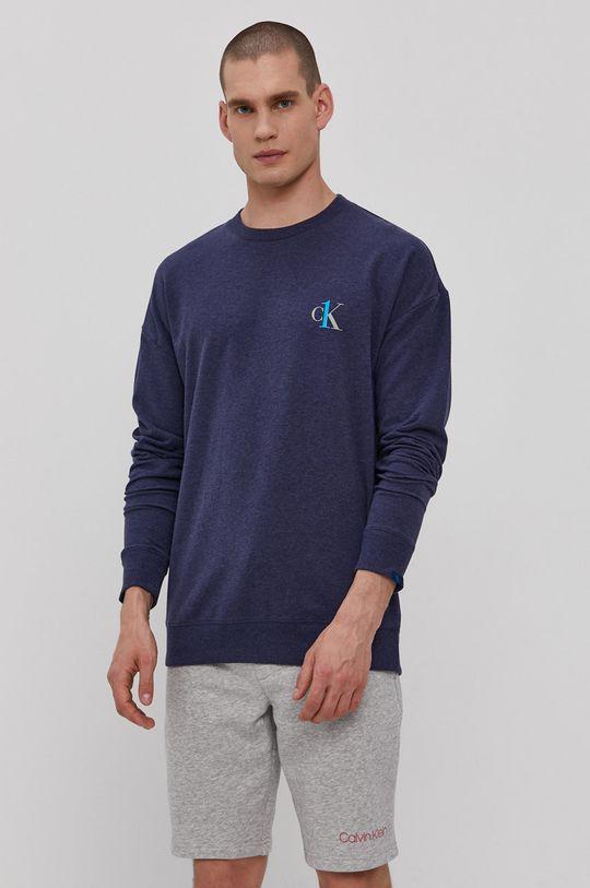 Calvin Klein Underwear - Bluza piżamowa CK One granatowy