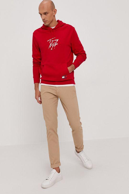 Tommy Hilfiger - Bluza czerwony