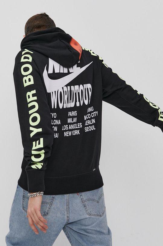 czarny Nike Sportswear - Bluza Męski