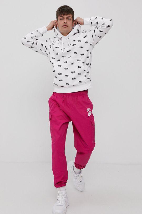 biały Nike Sportswear - Bluza Męski
