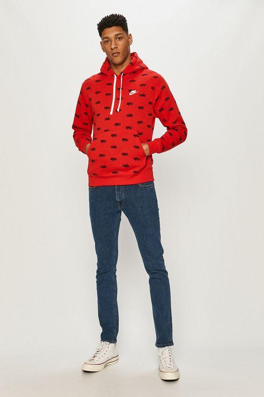 Nike Sportswear - Bluza czerwony
