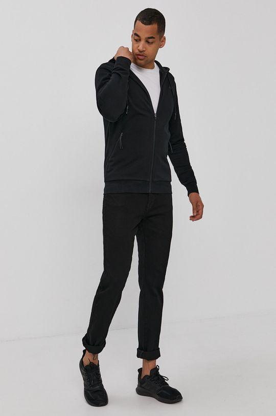 4F - Mikina černá