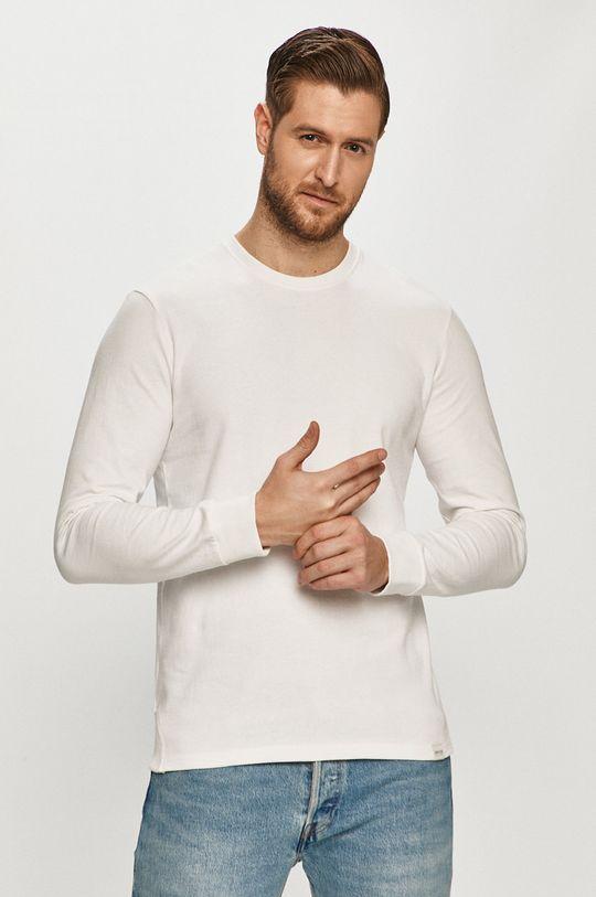 biały Only & Sons - Bluza bawełniana Męski