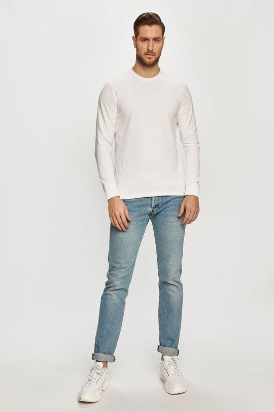 Only & Sons - Bluza bawełniana biały