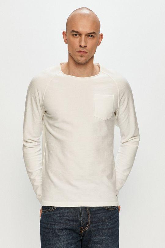 alb Produkt by Jack & Jones - Bluza De bărbați