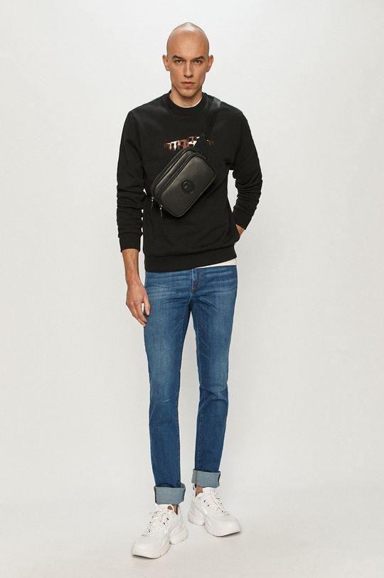 Trussardi Jeans - Mikina čierna