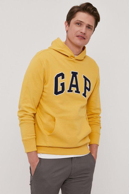 żółty GAP - Bluza Męski