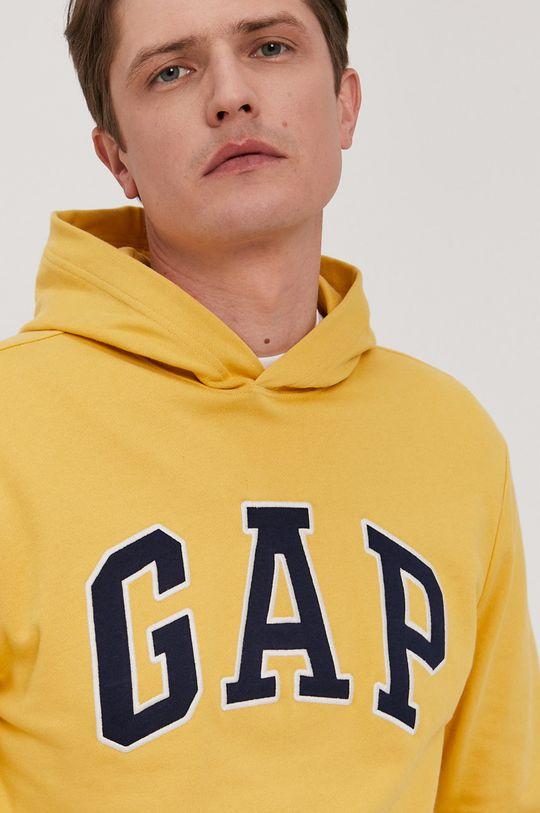 żółty GAP - Bluza