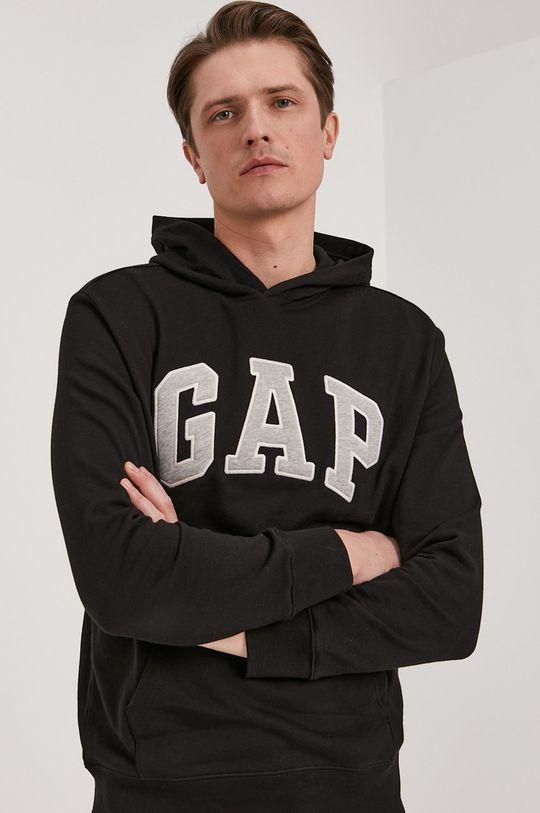 czarny GAP - Bluza Męski