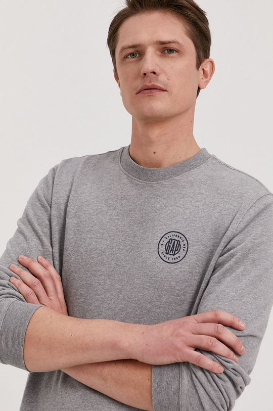 szary GAP - Bluza