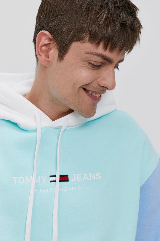turkusowy Tommy Jeans - Bluza