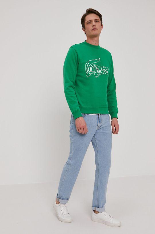 Lacoste - Bluza verde