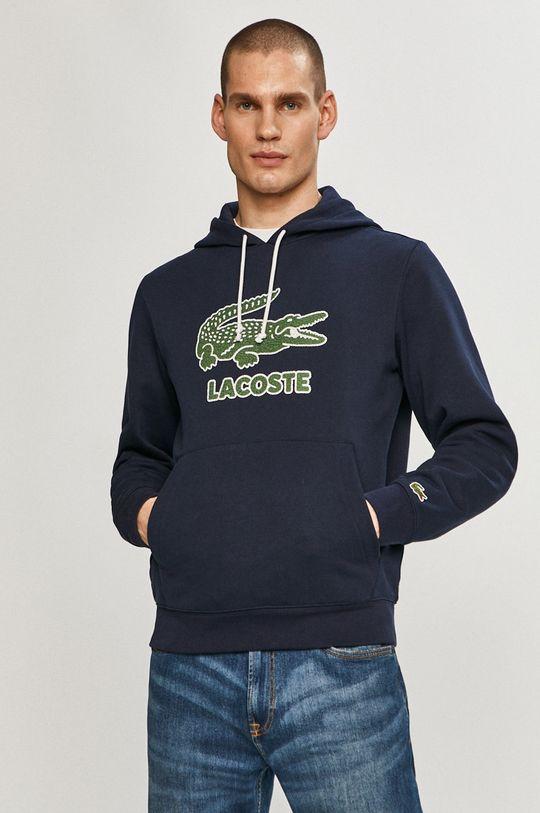 granatowy Lacoste - Bluza Męski