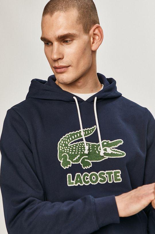 granatowy Lacoste - Bluza