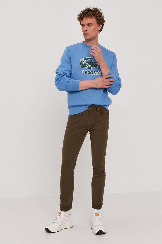 Lacoste - Bluza niebieski