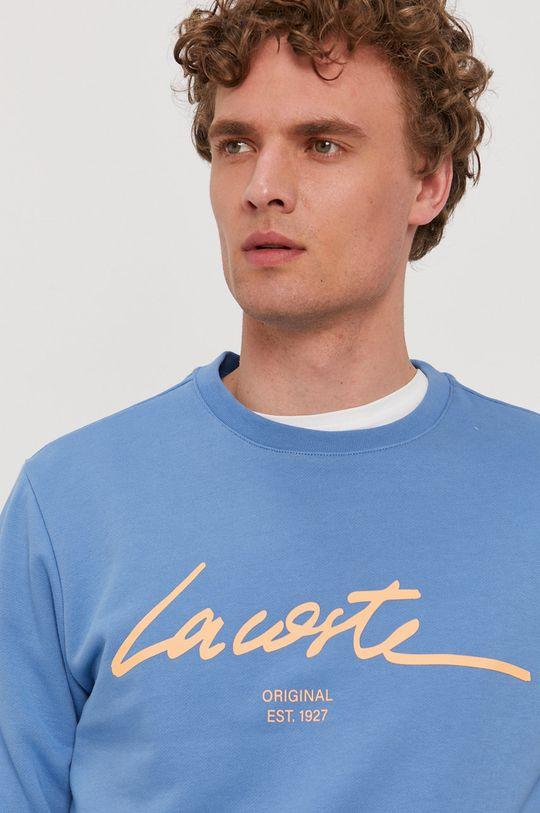 niebieski Lacoste - Bluza bawełniana