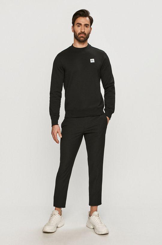 Lacoste - Bluza bawełniana czarny