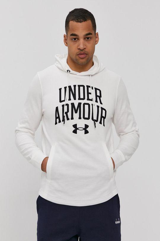 biały Under Armour - Bluza Męski