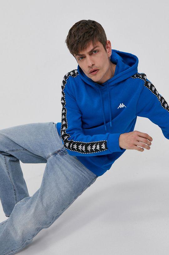 niebieski Kappa - Bluza Męski