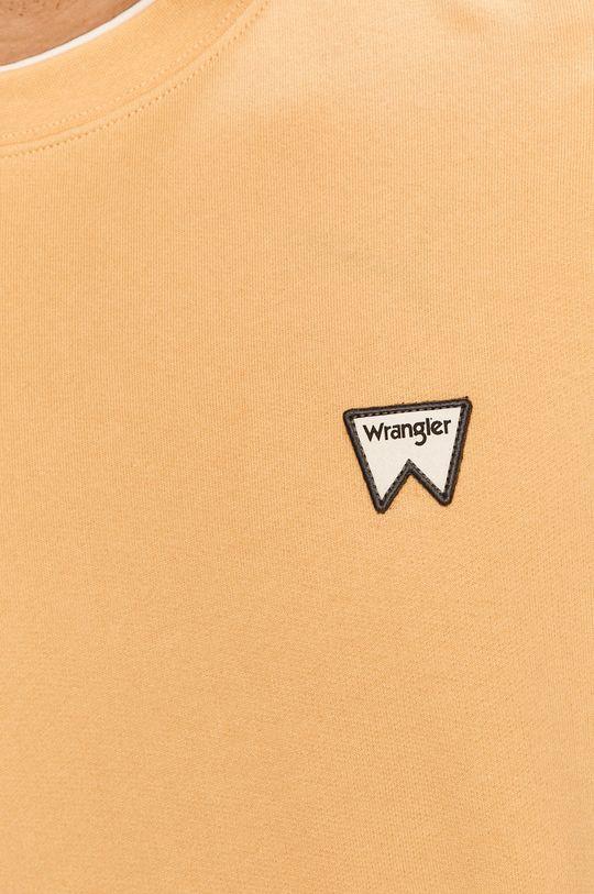 Wrangler - Bavlněná mikina Pánský