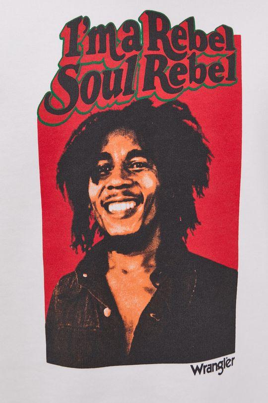 Wrangler - Bluza bawełniana x Bob Marley Męski