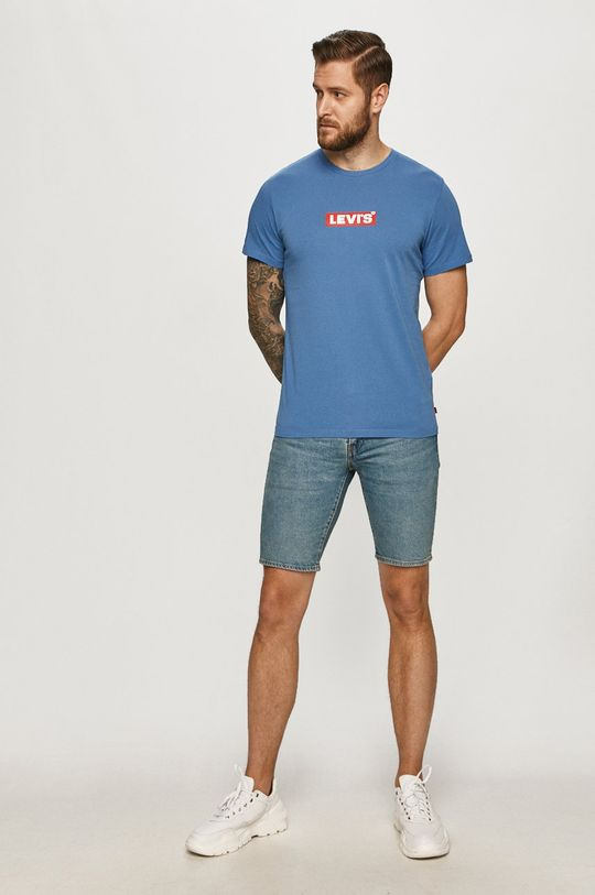 Levi's - T-shirt fioletowy