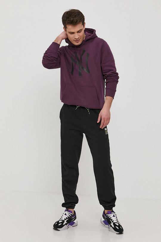 New Era - Bluza ciemny fioletowy